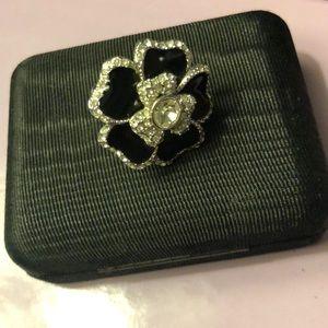 Lia Sophia Flower Ring